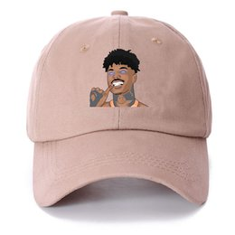 80f2eae8b9cc3 Wholesale Famous Hats UK - New Blueface Merch Dad Hat High Quality  Embroidered Baseball Cap Famous