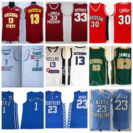lebron jerseys 2019 - College Basketball Jerseys Football All Colors LeBron  Curry Luka Doncic James Bryant c6051c6b7
