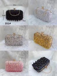 $enCountryForm.capitalKeyWord Australia - Ins crystal clutch womens designer handbags sequins sparkling evening bags ladies shoulder chain bags designer luxury crossbody bags