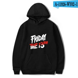 $enCountryForm.capitalKeyWord NZ - Friday The 13Th Hoodie The Game Horror Mask Women Sweatshirts Polyester Hoodies Sweatshirts Movie 3D Clothing Causal Pink