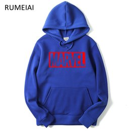 Male Fashion Suits Australia - New Marvel Letter Print Black Sweatshirt Men Hoodies Fashion Solid Hoody Men Suit Pullover Men's Tracksuits male coats