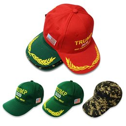 b75d93e9771 BaseBalls custom hat online shopping - Baseball Sports Cap Trump Keep  America Great Embroidery Cotton Hat