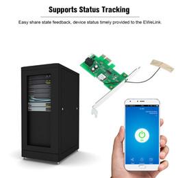 Discount pci card mini - Mini PCI-e Desktop PC Remote Control Switch Card for WiFi Wireless Smart Switch Relay Module Wireless Restart