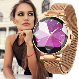 $enCountryForm.capitalKeyWord Australia - Smart Watch Women Luxury Bluetooth Fashion Lady Smart Bracelet Heart Rate Monitor Fitness Tracker Female Smart Wristband Watch Y19062402