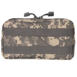Magazine Vest Tactical Australia - Military Tool Drop Bag MOLLE kit medical package Tactical Airsoft Vest Sundries Camera Magazine Storage Bag Outdoor Travel bag #492367