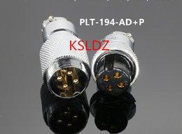 Industrial Connectors Australia - Free shipping lot (1 pieces lot)original New PLT APEX PLT-194-AD+P PLT-194-AD-R PLT-194-P-R 4PINS Aviation Plug and Socket Connector
