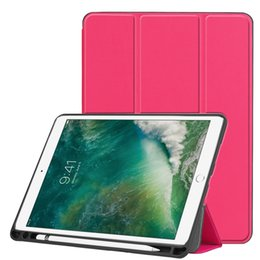 $enCountryForm.capitalKeyWord Australia - Ultra Slim PU Leather Case Book Flip Cover with TPU for iPad Air 3 10.5 2019 iPad Pro 10.5 Tablet with Sleep Wake Up
