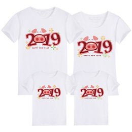 $enCountryForm.capitalKeyWord NZ - 2019 Summer Short Sleeve T-shirt For Mother And Daughter Cotton Women Shirt Girls Clothes Lovely Family Matching Clothes Shirt Y190523