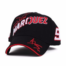 China 2019 Hot Sell Cosplay Cartoon Big Ant Embroidery Marc Marquez Motorcycle Hat Sports Baseball Cap Men and Women Fashion Caps ssd cheap big hat women suppliers