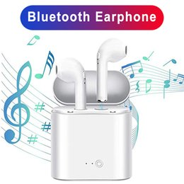$enCountryForm.capitalKeyWord Australia - I7s Tws sports headphones in-ear wireless headset mini Bluetooth headset stereo with charging box for Android IOS system mobile phone