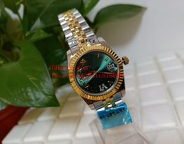 buy watches 2020 - Hot buy Ladies Watches 36 mm 31mm 178273 278273 Two Tone Gold Diamond Bezel Date Sapphire Glass Roman Dial Asia 2813 Mov