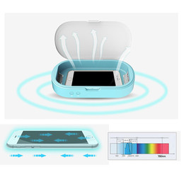 Household UV Sterilizer Case USB Powered Disinfection Storage Cleaning Box for Cell Phone Underwear MP3 Cosmetics Mask Aroma Esterilizador on Sale