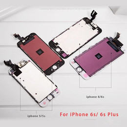 iphone 6s screens NZ - OEM Top Grade Repair Part For iphone6S iphone 6S 4.7 inch Full LCD Display Digitizer Touch Panel Screen Assembly Warranty White Black