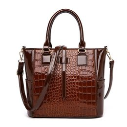 $enCountryForm.capitalKeyWord Australia - Fashion Women Handbags Soft PU Leather Shoulder Bags Lady Large Capacity Solid Multi Color Female Casual Tote bag Messenger Bag