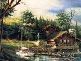 $enCountryForm.capitalKeyWord Australia - Landscape Art Changing Seasons Summer,Oil Painting Reproduction High Quality Giclee Print on Canvas Modern Home Art Decor
