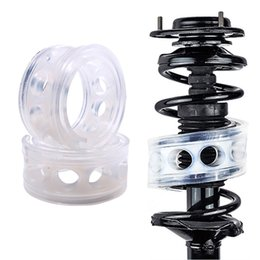 car spring cushion 2019 - LOONFUNG LF207 Car Shock Absorber Spring Bumper Power Auto-buffers Springs Bumpers Cushion Urethane For Cars goods Buffe
