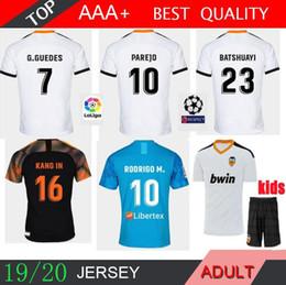 Custom 24 blaCk gold online shopping - 2019 Soccer Jersey Custom Home Away WHITE BLUE KIDS Football Shirt