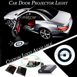 car logo light wireless 2019 - 1pair Car Door Wireless Projector Laser Logo Welcome Light cheap car logo light wireless