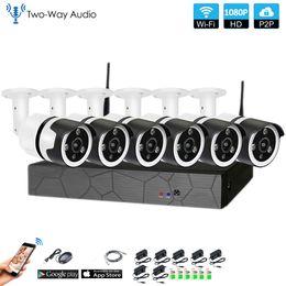 $enCountryForm.capitalKeyWord Australia - 6CH two way audio HD Wireless NVR Kit P2P 1080P Indoor outdoor IR Night Vision Security 2.0MP IP Camera WIFI CCTV System