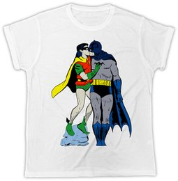 184f734dec0b FUNNY Top tee & ROBIN Top tee KISSING TSHIRT GAY PRIDE SHORT SLEEVE MENS T  SHIRT