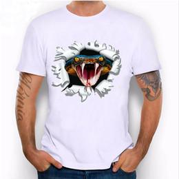 7d87b6cd6 HigH fasHion t sHirt designs online shopping - New Fashion Men s Clothing D  Cobra Print