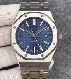 Plastic men watches online shopping - Hot Sale Men Automatic Movement Royal Oak Offshore Series Watch Sapphire Stainless Steel Mens Wristwatches mm
