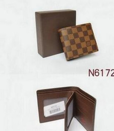 $enCountryForm.capitalKeyWord NZ - hot Brown fashion style men purse wallet quality leather soft bifold credit card holders wallets for men free shipping no box 01
