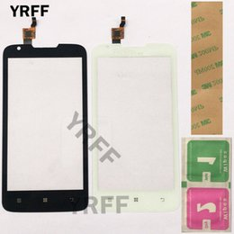 $enCountryForm.capitalKeyWord NZ - 5.0'' Mobile Touch Screen Touch Panel Glass Digitizer Front Outer Glass For Lenovo A680 A 680 Screen Phone Repair Sensor
