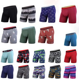 Wholesale boxer briefs resale online - Random styles BN3TH Mens Soft Modal Trunks Boxer briefs Underwear North American size XS XL