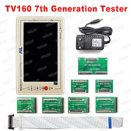 hdmi tester 2019 - Official TV160 7th TV Mainboard Tester Tools 7 Inch LCD Display Vbyone DS to HDMI Converter With Seven Adapter Panels ch