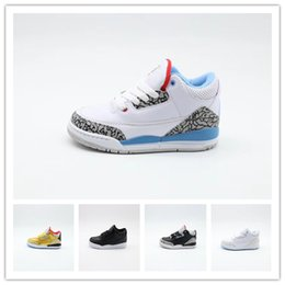 $enCountryForm.capitalKeyWord Australia - New Retro Kids Shoes 3 White Cement Katrina Cyber Monday Basketball Shoes Youth Boys Girls 3s III White Cement Sneaker Size 11C-3Y