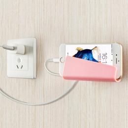 $enCountryForm.capitalKeyWord Australia - Mobile Phone Pad No Track Charging Bracket Paste Creative Wall Mounted Universal Type Charging