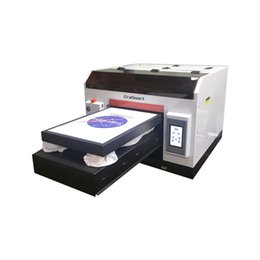 $enCountryForm.capitalKeyWord Canada - EraSmart Flat Bed Printer Garment DTG Printer A3 Textile T-Shirt Printing Machine For Small Business