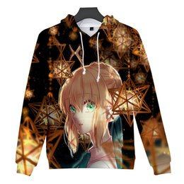 $enCountryForm.capitalKeyWord Australia - 3D Anime Hoodie The night of fate sweatshirts Men women Fashion Hoodies Fateful night-cup of heaven 3D Hooded Boys girls Tops
