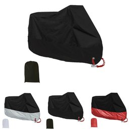 protective motorcycle covers Canada - Foldable Indoor Outdoor Anti Dust Scooter UV Bike Thickened Protective Waterproof Motorcycle Cover Protector