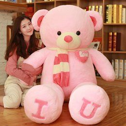 Birthday teddies for girls online shopping - Hot selling love dressing teddy soft pillow plush toys for children and girls birthday gifts for valentine s day