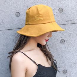 1bdcf8345f84e Fisherman hat female ulzzang Japanese wild ins Korea tide basin hat  sunscreen leisure sunshade hat female summer