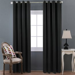 $enCountryForm.capitalKeyWord Australia - High precision black curtain fabric insulation pure Nordic style living room balcony bedroom