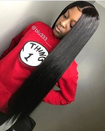 Discount black curly human hair wig - 10A Brazilian Hair Straight Human Hair Wigs with Baby Hair Kinky Curly 4*4 Lace Front Wigs Body Wave For Black Women Who