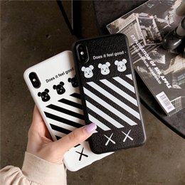 cell phone silicone case iphone NZ - 19ss for Iphone XR XS MAX X 6S 7 8 plus TPU soft rubber silicone cell mobile phone case slim cover