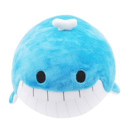 Chinese  Cute Soft Stuffed Toy Foam Particle Kids Doll Figurine Birthday Gifts Fun Sea Animal Dolphin Whale Nano Dolls manufacturers