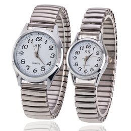 Face Watch Men Digital Australia - Hot sale digital old man watch spring with couple watch small fresh digital face watch
