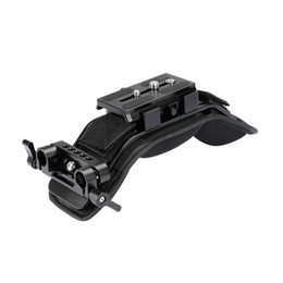 Chinese  CAMVATE Shoulder Mount With Manfrotto Quick Release Plate Assembly 15mm Dual Rod Clamp C2045 manufacturers