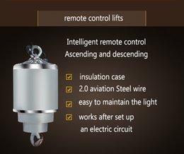 Venta al por mayor de Freeshipping 10 KG 12M luz de techo de la lámpara de Ascensores remoto Control de elevación del alzamiento de la lámpara de la luz eléctrica del sistema FS-12M15