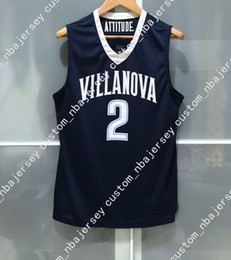 Cheap custom VILLANOVA WILDCATS  2 NCAA BASKETBALL JERSEY Stitched  Customize any number name MEN WOMEN YOUTH XS-5XL 084d3a2f9