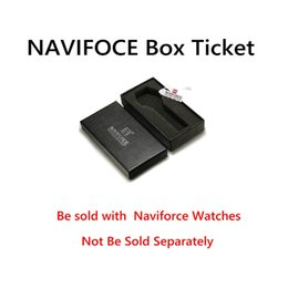 Original Boxes Papers Australia - NAVIFORCE Brand Original Watch Box Gift Paper Boxes