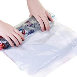 $enCountryForm.capitalKeyWord Australia - New Storage Bags Vacuum Bag Hand Volume Vacuum Clothes Storage Bags Travel Organizer Wardrobe Vacuum Bags For Clothes