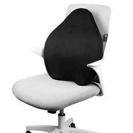Car Styling Chairs UK - Office chair back cushion memory cotton back cushion car back cushion hot style hot seller wholesale