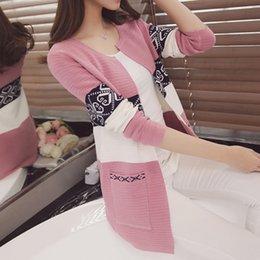 Korean women winter long coat online shopping - Cardigan Sweaters Women Knitted Coat Women s Sweater Top Feminine Clothes Long Sleeve Warm Jacket Korean Style Autumn Winter SH190912
