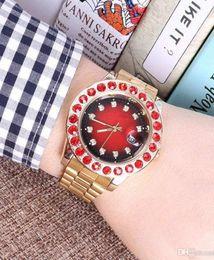 Brand Luxury Style Watch Australia - Brand Automatic Date Style Man Watch Diamond Steel Chain Wristwatch Luxury Emerald Business Clock High Ruby Mechanical Designer Watch